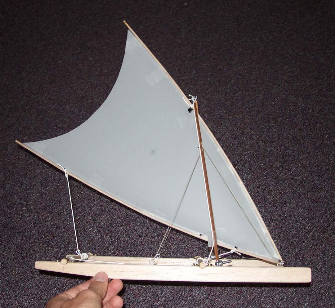 Crab Claw Plywood Catamaran: Design