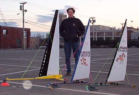 Land sailing kits